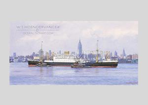 Marine art Noordam